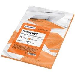 Бумага цветная OfficeSpace intensive А4, 80г/м2, 50л. (оранжевый) 245184