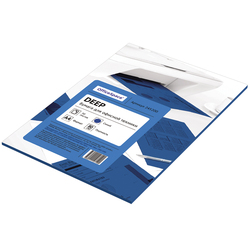 Бумага цветная OfficeSpace deep А4, 80г/м2, 50л. (синий) 245200