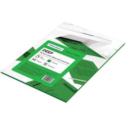 Бумага цветная OfficeSpace deep А4, 80г/м2, 50л. (зеленый) 245201