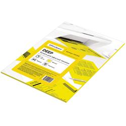 Бумага цветная OfficeSpace deep А4, 80г/м2, 50л. (желтый) 245202