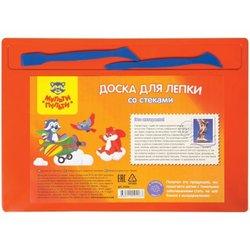 Набор для лепки Мульти-Пульти, доска А4+2 стека, полистирол, оранжевый ДЛ_14426