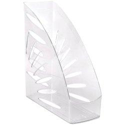 """Лоток для бумаг вертикальный Стамм """"Тропик"""", прозрачный ЛТ352"""