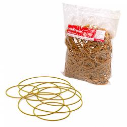 Банковская резинка ErichKrause®, длина 60, 80, 100мм 100% натуральный каучук (в пакете по 1 кг.) 25017