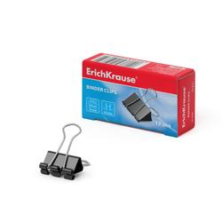 Зажимы для бумаг ErichKrause®, 15мм (коробка 12 шт.) 25085