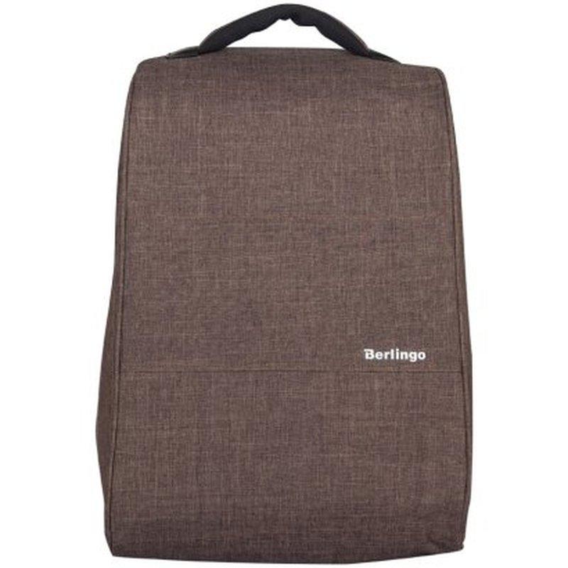 "Рюкзак Berlingo City Style ""Urban Style-4"" 42*30*14см, 1отд.,2 карм.,отд. для ноутбука,эргон. спинка RU038113"