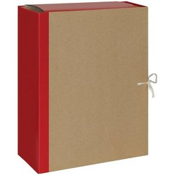 Папка архивная OfficeSpace, крафт/бумвинил, с 4 завязками, ширина корешка 120мм 255994