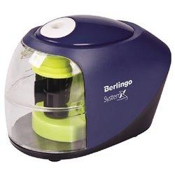 """Точилка электрическая Berlingo """"SystemX"""", 1 отверстие, с контейнером, картон. уп. BEs_37002"""