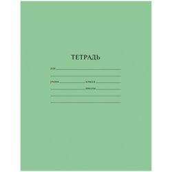 Тетрадь 12 листов в линейку ArtSpace, эконом зеленый Тш12лЭ_20191