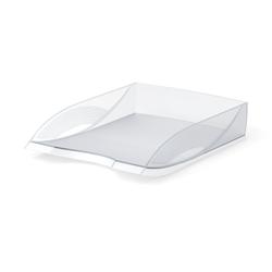 Лоток пластиковый для бумаг ErichKrause® Rainbow, прозрачный 26496