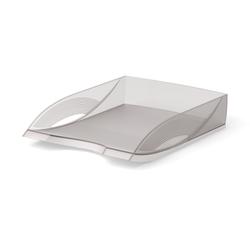 Лоток пластиковый для бумаг ErichKrause® Rainbow, дымчатый 26497