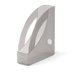 Подставка пластиковая для бумаг вертикальная ErichKrause® Rainbow, 75мм, дымчатый 26503