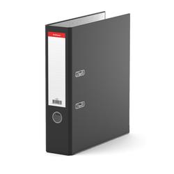 Папка–регистратор с арочным механизмом ErichKrause®, Standard, А4, 70 мм, черный 269
