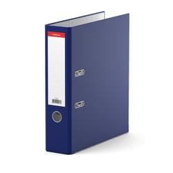 Папка–регистратор с арочным механизмом ErichKrause®, Standard, А4, 70 мм, синий 271