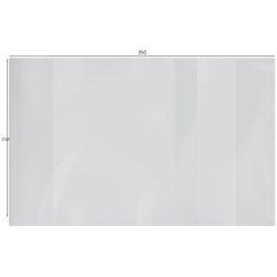 Обложка 210*350 для дневников и тетрадей, ArtSpace, ПЭ 140мкм, с закладкой, ШК PET 210.140