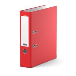 Папка–регистратор с арочным механизмом ErichKrause®, Standard, А4, 70 мм, красный 280