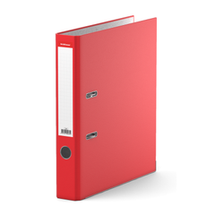 Папка–регистратор с арочным механизмом ErichKrause®, Standard, А4, 50 мм, красный 281