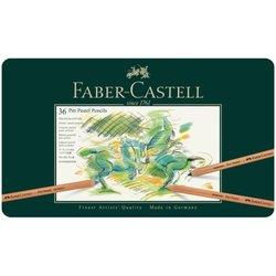 "Пастельные карандаши Faber-Castell ""Pitt Pastel"" 36цв., метал. коробка 112136"
