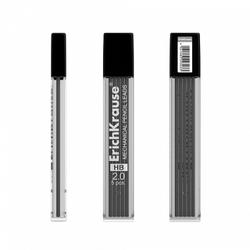 Грифели ErichKrause® Draft для механических карандашей 2.0мм (в футляре по 5 шт.) 29303