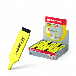 Текстмаркер ErichKrause® Visioline V-20, цвет чернил желтый 30940