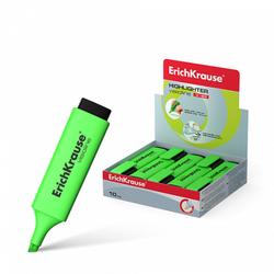 Текстмаркер ErichKrause® Visioline V-20, цвет чернил зеленый 30941