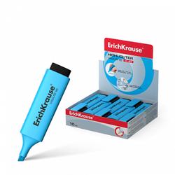 Текстмаркер ErichKrause® Visioline V-20, цвет чернил голубой 30944