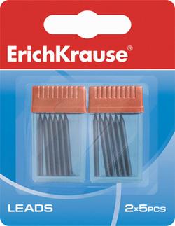 Набор грифелей для циркулей ErichKrause® (в блистере 2 контейнера по 5 шт.) 31539