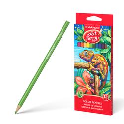Цветные карандаши трехгранные ArtBerry® 12 цветов 32479