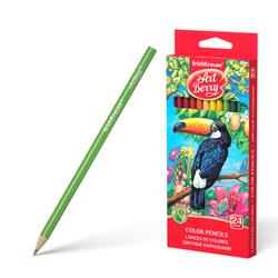 Цветные карандаши трехгранные ArtBerry® 24 цвета 32480