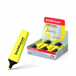 Текстмаркер ErichKrause® Visioline V-12, цвет чернил желтый 32496
