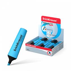 Текстмаркер ErichKrause® Visioline V-12, цвет чернил голубой 32500