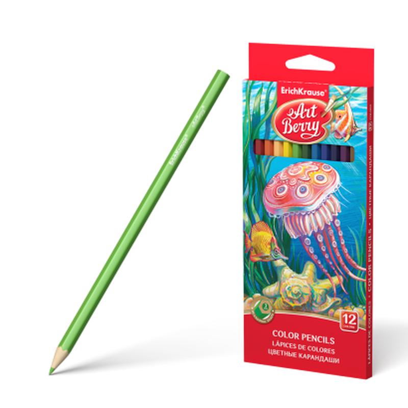 Цветные карандаши шестигранные ArtBerry® 12 цветов 32878