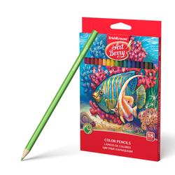 Цветные карандаши шестигранные ArtBerry® 18 цветов 32879