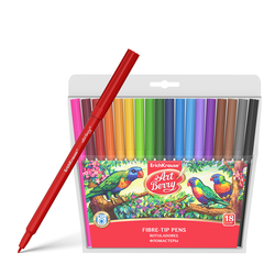 Фломастеры ArtBerry® Super Washable 18 цветов 33051