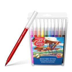Фломастеры-кисточки ArtBerry® Easy Washable 10 цветов 33055