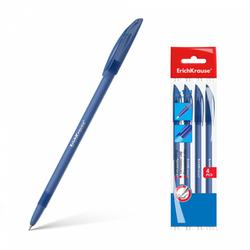 Ручка шариковая ErichKrause® R-101, цвет чернил синий (в пакете по 4 шт.) 33515