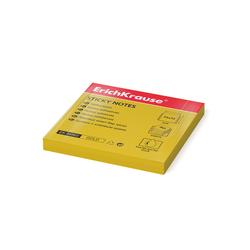 Бумага для заметок с клеевым краем ErichKrause® Neon, 75х75 мм, 80 листов, золотой 34962