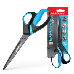 Ножницы ErichKrause® Explorer, 19см (блистер) 35107