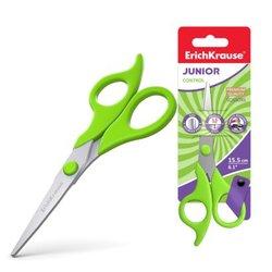 Ножницы ErichKrause® Control Junior, 15.5см (в блистере по 1 шт.) 35144