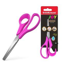 Ножницы для левшей ErichKrause® Joy Ergo, 14см (блистер) 35146