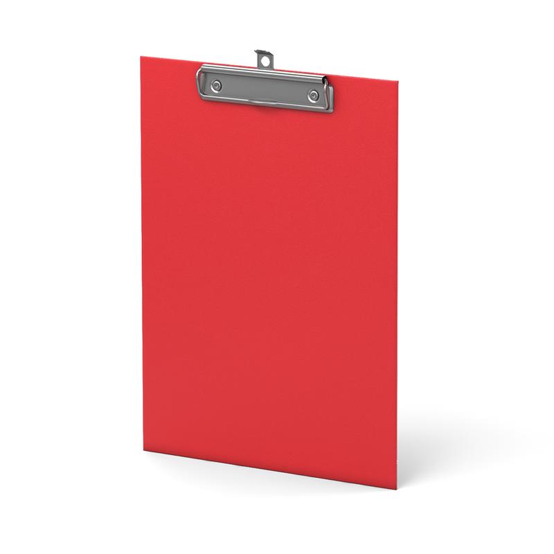Планшет с зажимом ErichKrause®, Standard, А4, красный 36095