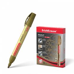 Маркер-краска ErichKrause® PT-350, цвет чернил золотой 37294