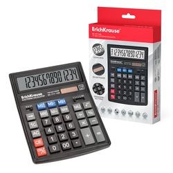 Калькулятор ErichKrause® 14-разрядов DC-777-14N. 37774