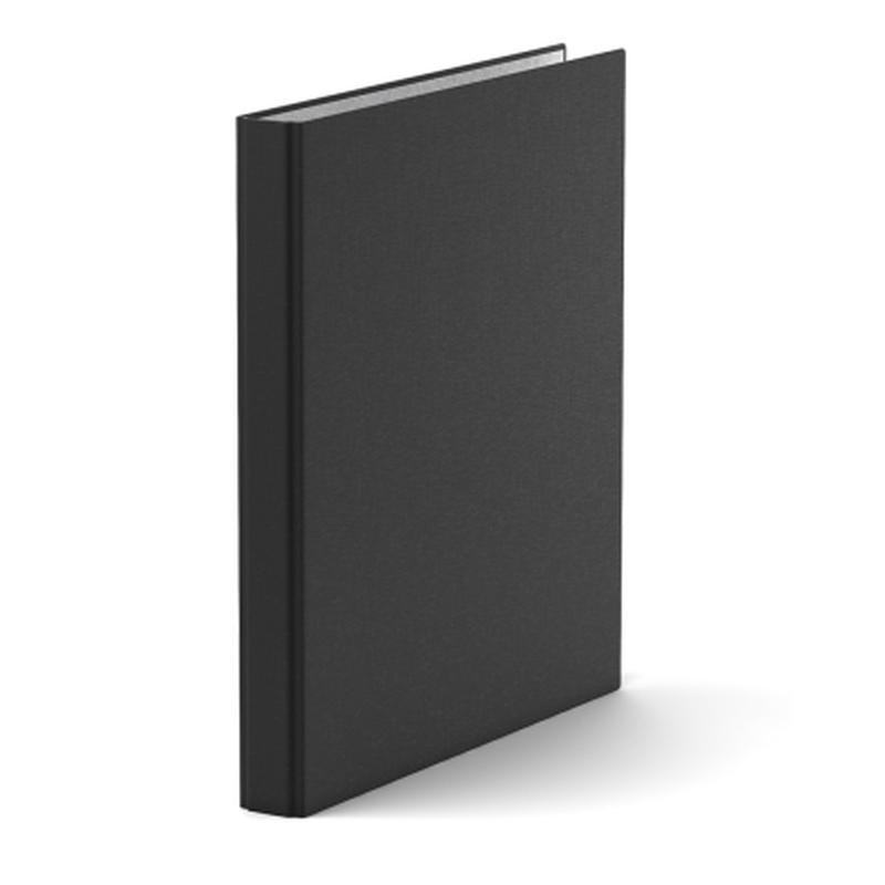 Папка–регистратор на 2 кольцах ErichKrause®, Standard, А4, 35 мм, черный 38207