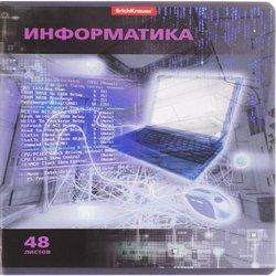 Тетрадь предметная ученическая,48л VIDEOTERMINAL Информатика, УФ-лак 38923