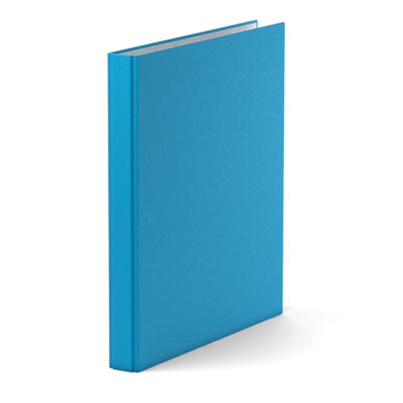Папка–регистратор на 4 кольцах ErichKrause®, Neon, А4, 35 мм, голубой 39060