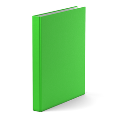 Папка–регистратор на 4 кольцах ErichKrause®, Neon, А4, 35 мм, зеленый 39061