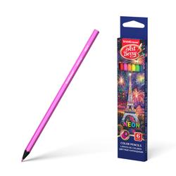 Цветные карандаши шестигранные ArtBerry® Neon 6 цветов 39424