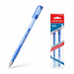 Ручка гелевая ErichKrause® G-Tone, цвет чернил синий (в пакете по 2 шт.) 39515