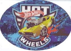 Подкладка настольная фигурная Hot Wheels. 39733