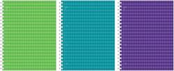 Тетрадь общая ученическая на спирали ErichKrause® Study up, А4, 120 листов, клетка, ламинация глянцевая, 3 пантона 39991